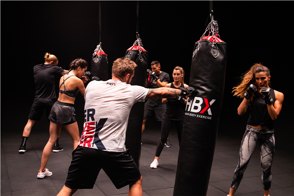 athletic fitness club hbx boxing4