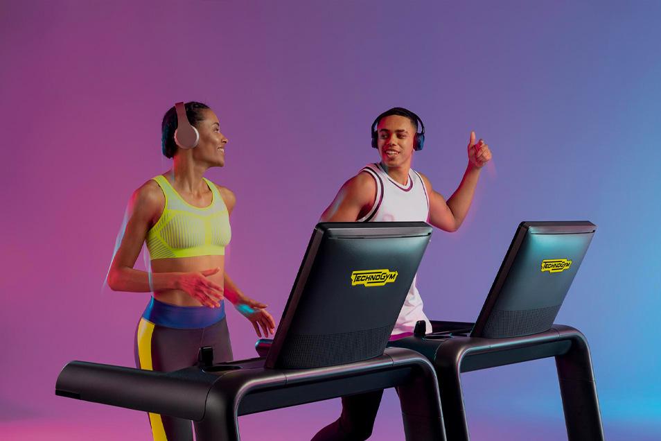 athletic fitness club technogym 2 cardio