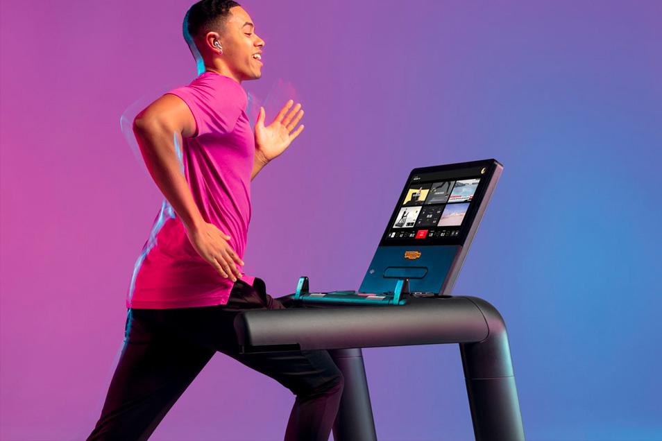 athletic fitness club technogym 3 cardio