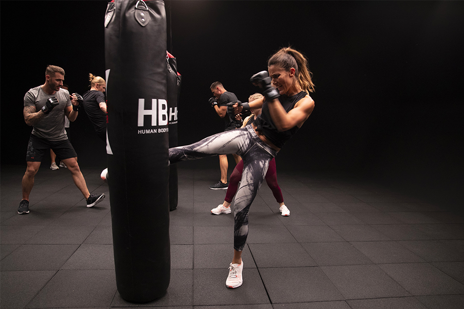 athletic fitness club hbx boxing(