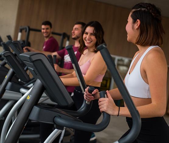 athletic fitness club cardio